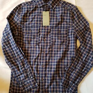 Goodfellow plaid button up, mens small